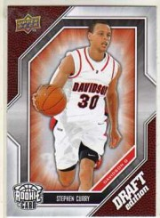 2009 Stephen Curry UD Rookie Card