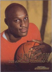 1999 Lamar Odom Skybox Dominion Rookie