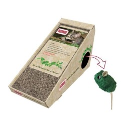 KONG Naturals Incline Scratcher with Cat Toy