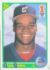1990 Frank Thomas Score Rookie Card