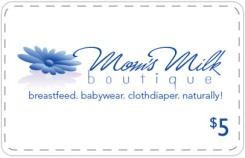 Mom's Milk Boutique - $5 Off