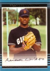 2006 Francisco Liriano Bowman Rookie Card