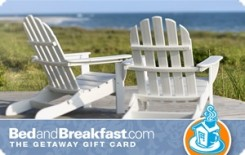 BedandBreakfast.com $25 Gift Card
