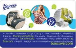 Boscov's eGift Card - $25