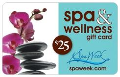 Spa Week e-Gift Card - $25