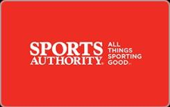 Sports Authority $25 Gift Card