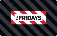 T.G.I. Friday�s eGift Card - $25