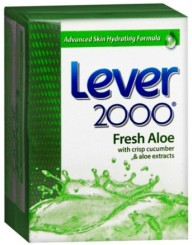 Lever 2000 Fresh Aloe Bar Soap (2 Pack, 4.5oz)