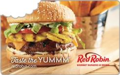 Red Robin eGift Card - $100