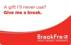 BreakFree eGift Card - $100 AUD