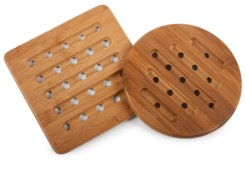 Core Bamboo 2-Piece Trivet Set