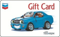 Chevron Gift Card - $50
