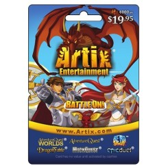 Artix Entertainment eGift Card - 4000 Points