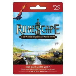 Jagex RuneScape eGift Card - $25