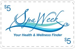 Spa Week - $5 Off