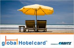 Global Hotel Promo Card by Orbitz - $25