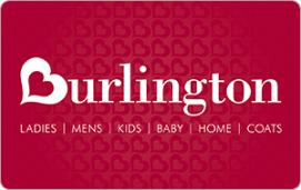 Burlington Coat Factory eGift Card - $10
