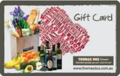 Thomas Dux eGift Card - $25 AUD
