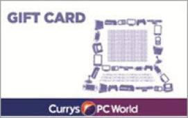 Currys PC World eGift Card - 50 GBP