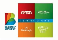 Bloomin' Brands eGift Card - $25
