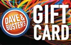 Dave & Busters eGift Card - $15
