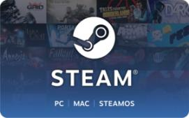 Steam $5 Gift Card