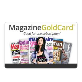 Magazine Gold Card Code