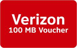 Verizon Mobile Data Rewards - 100 MB