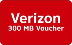 Verizon Mobile Data Rewards - 300 MB