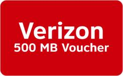 Verizon Mobile Data Rewards - 500 MB