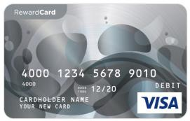 Visa $50 Reward Card