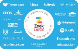 Zeek eGift Card - 10 GBP