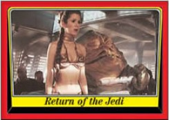 1983 Return of the Jedi Trading Card