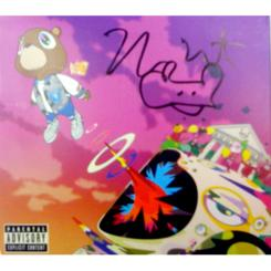 "Autographed Kanye West ""Graduation"" CD"