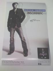 "Enrique ""Insomniac"" Limited Edition Promo Poster"