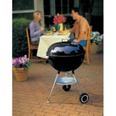 Weber 22.5-Inch One-Touch Silver Kettle Grill