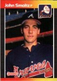 1989 John Smoltz Donruss Rookie Card