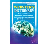 Webster's Dictionary Softback