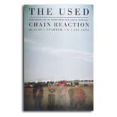 The Used - Chain Reaction Promo Poster