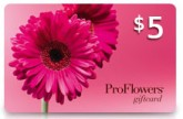 ProFlowers.com $5 Gift Card