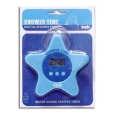 "Shower Time - Digital Shower Timer ""Star"""