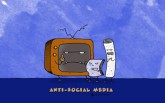 """Anti-Social Media"" - AGENT-x Desktop Wallpaper"