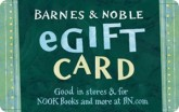 Barnes & Noble eGift Card - $25