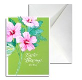 Easter Greeting Card (green)
