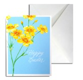 Easter Greeting Card (blue)