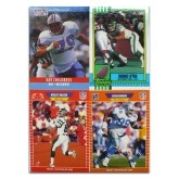 NFL Vintage Trading Card 4-pack (Any Team)