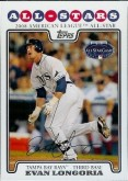 2008 Evan Longoria Topps (All Star) Rookie Card