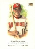 2006 Ryan Zimmerman Allan & Ginter Rookie Card