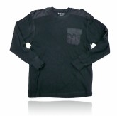 Galaxy by Harvic - Black Thermal Long Sleeve Shirt