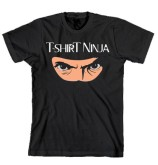 """T-Shirt Ninja"" - Crazy Dog T-Shirt"